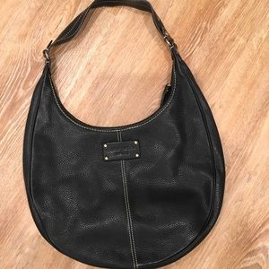 Authentic Kate Spade leather hobo handbag